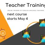 Teacher Training May 2020