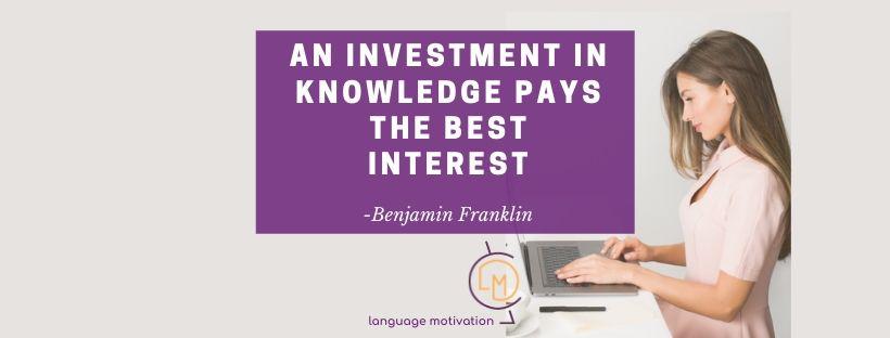 Πόσο επενδύεις στην εκπαίδευσή σου; -[How much are you investing in your education?]