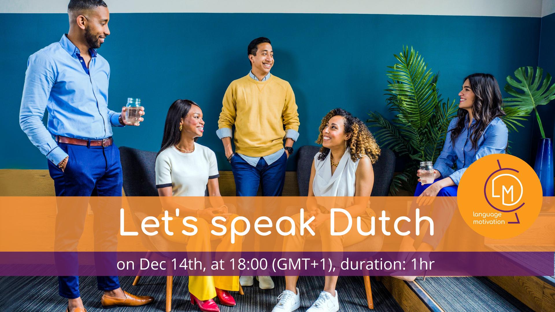 1st Dutch Conversation Cafe
