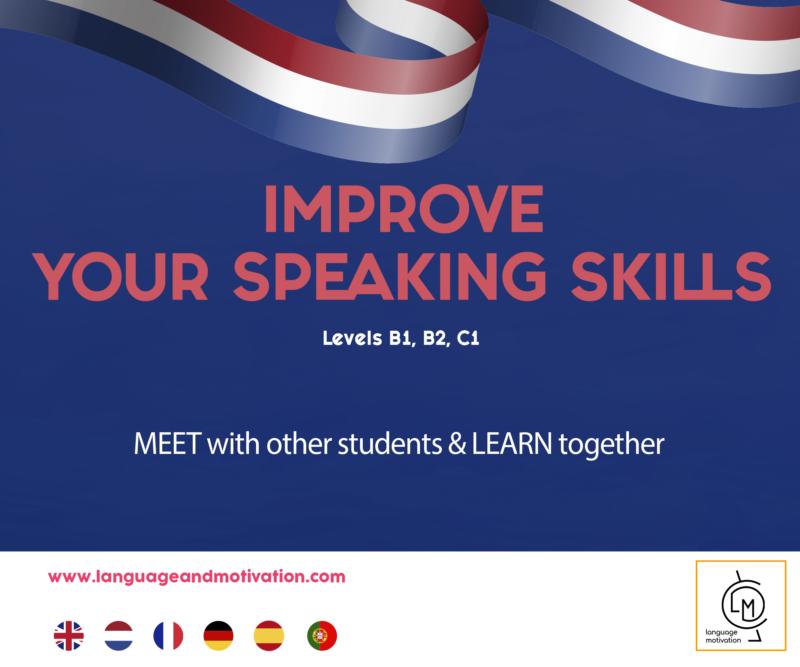 Dutch: Improve your speaking skills