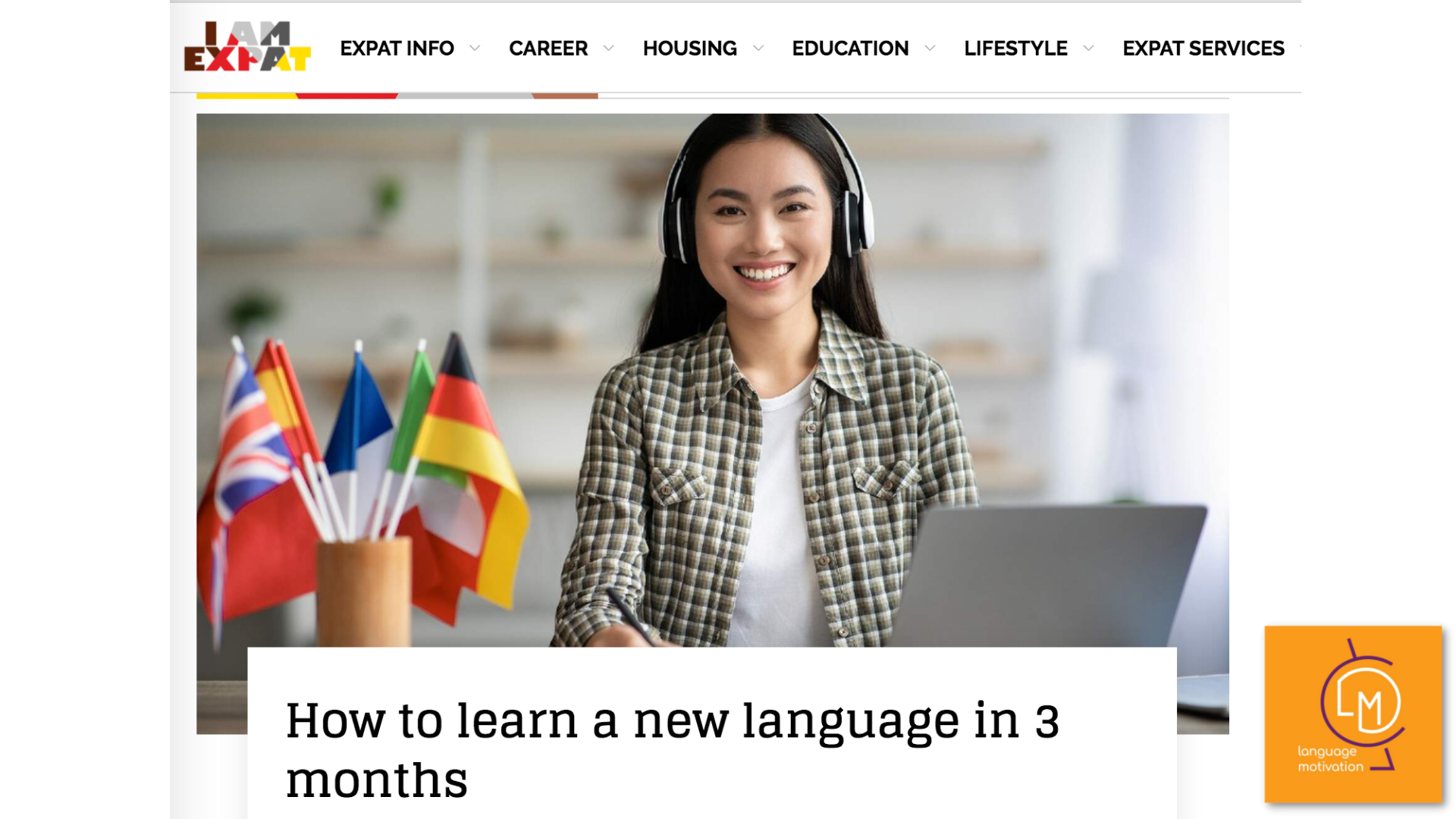 """Step by step guide on """"How to learn a new language in 3 months"""""""