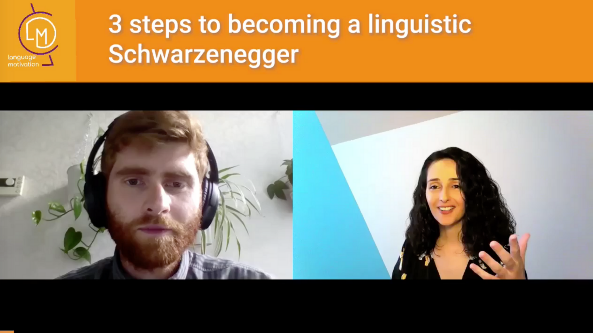 Video: Three steps to becoming a linguistic Schwarzenegger!
